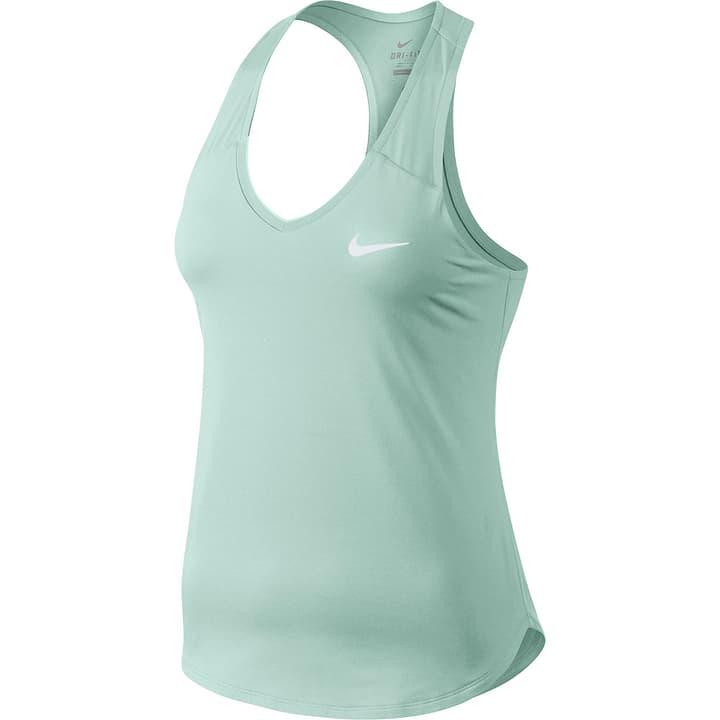 Court Pure Tennis Tank Haut pour femme Nike 473224200685 Couleur menthe Taille XL Photo no. 1