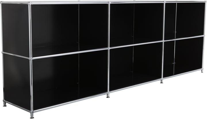 FLEXCUBE Buffet 401809500020 Dimensions L: 227.0 cm x P: 40.0 cm x H: 80.5 cm Couleur Noir Photo no. 1