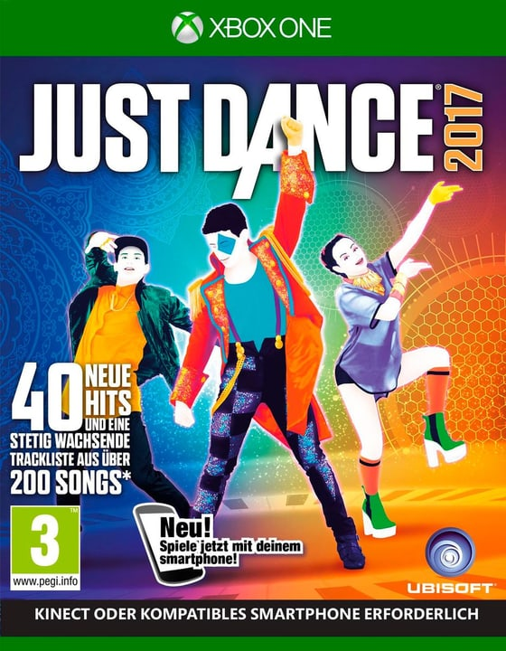 Xbox One - Just Dance 2017 Fisico (Box) 785300121214 N. figura 1