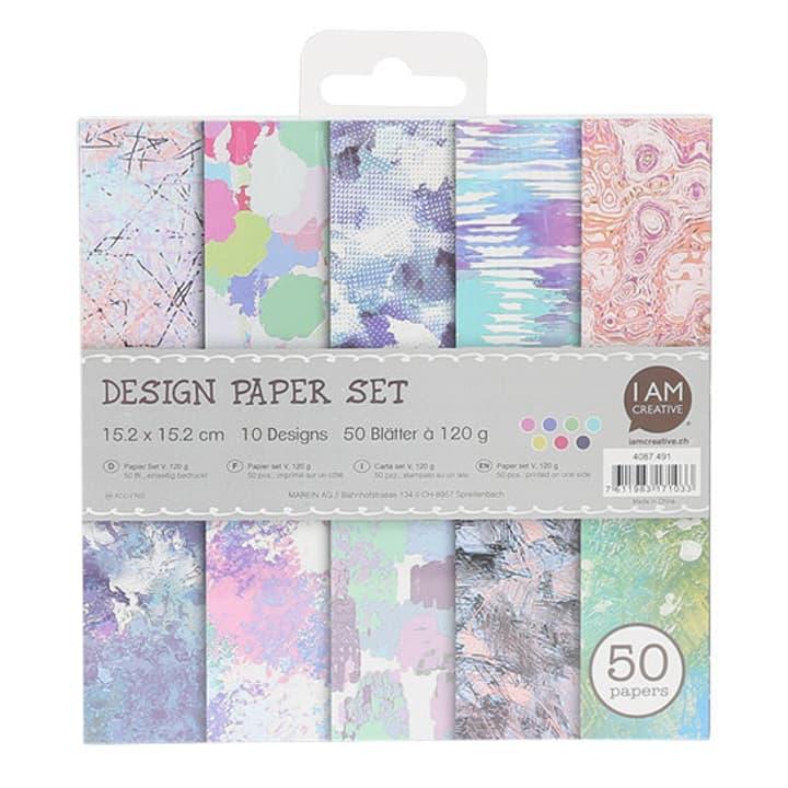 Paper Set V,15.2X15.2CM, 50 Foglie I AM CREATIVE 666205300000 N. figura 1