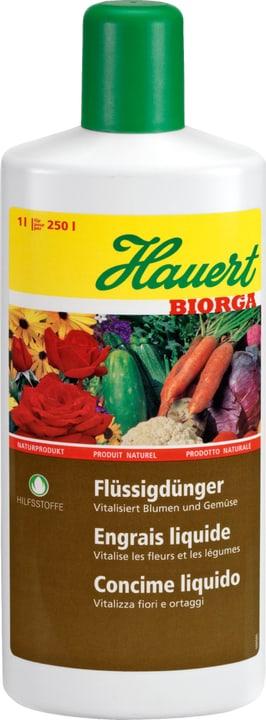 Biorga Flüssigdünger, 1 l Hauert 658207300000 Bild Nr. 1