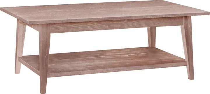 EMILIA Tavolino da salotto 402133300011 Dimensioni L: 120.0 cm x P: 70.0 cm x A: 45.0 cm Colore Bianco / Quercia palustre N. figura 1