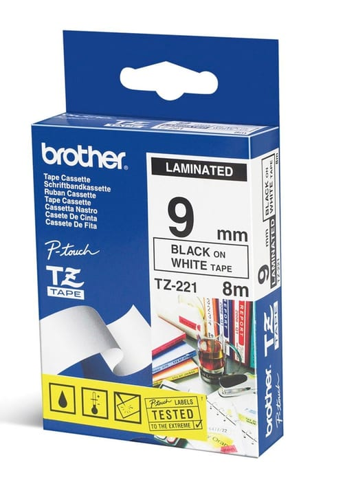 PTOUCH  TZ-221 9mm ruban Brother 792056000010 Photo no. 1