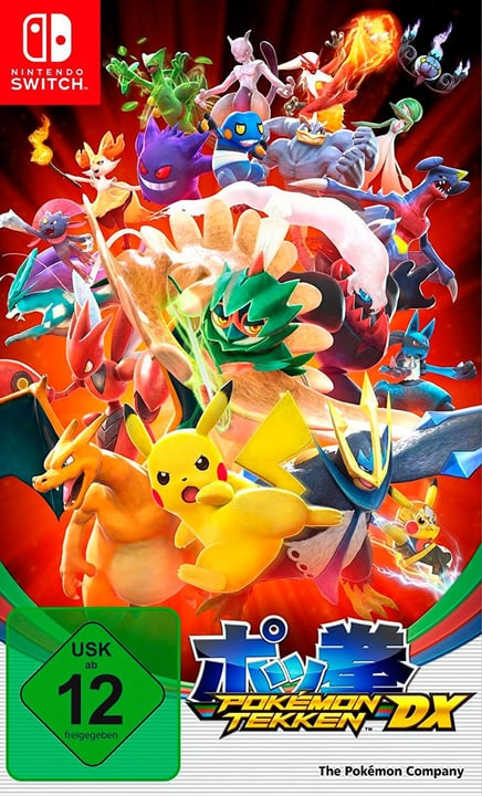 Switch - Pokkén Tournament DX 785300128756 Photo no. 1