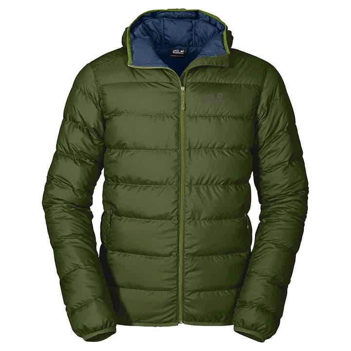 Helium Doudoune pour homme Jack Wolfskin 462706100568 Couleur vert mousse Taille L Photo no. 1