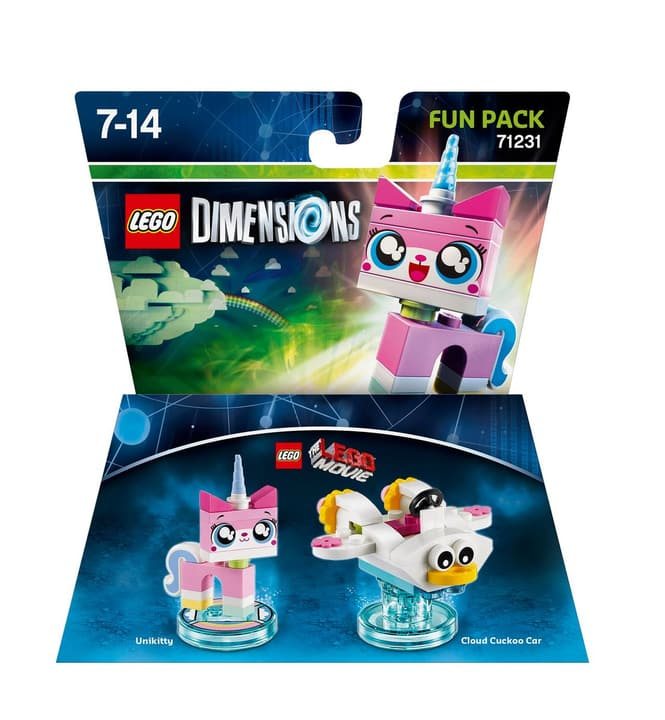 "LEGO Dimensions Fun Pack LEGO Movie ""Unikitty"" 785300119849 N. figura 1"