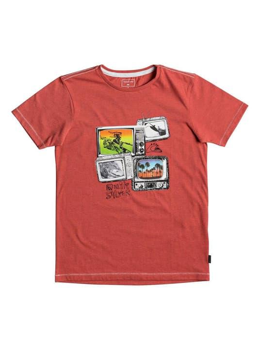 Shirt pour garçon Quiksilver 464552316478 Couleur rouille Taille 164 Photo no. 1