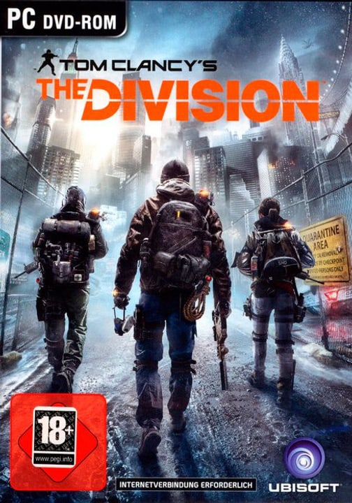PC - Pyramide: Tom Clancy The Division D Fisico (Box) 785300130589 N. figura 1