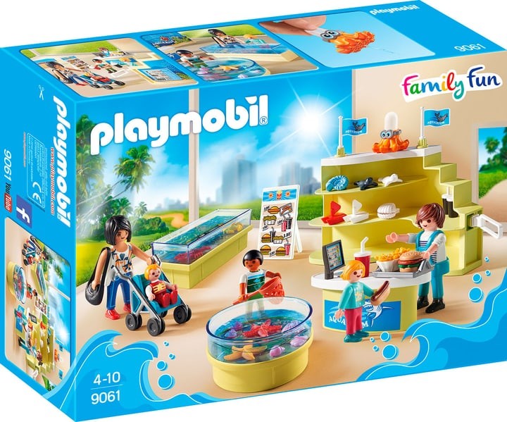 Playmobil Family Fun Boutique de l'aquarium 9061 746075300000 Photo no. 1