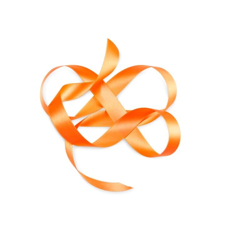 KIKILO Satinband 25mm x 10m 386044500000 Farbe Orange Grösse B: 1000.0 cm x T: 2.5 cm x H: 0.1 cm Bild Nr. 1