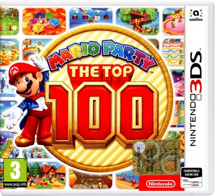 Mario Party: The Top 100 [3DS] (I) Box 785300131225 Bild Nr. 1