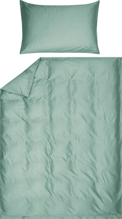 AZUL Federa per piumino raso 451309212362 Colore Verde Dimensioni L: 160.0 cm x A: 210.0 cm N. figura 1
