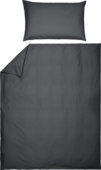 ROMANO Taie d'oreiller en percale 451251310880 Couleur Gris Dimensions L: 50.0 cm x H: 70.0 cm Photo no. 1
