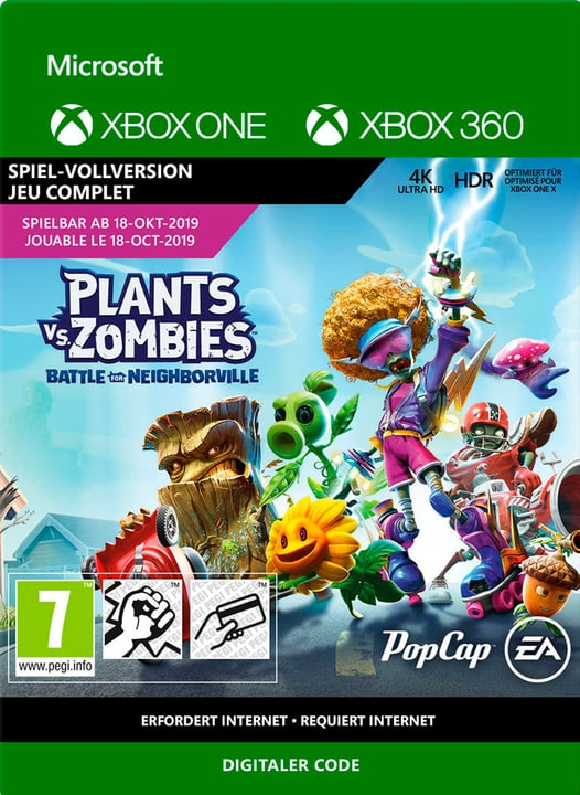 Xbox One - Plants vs. Zombies: Battle of Neighborville Download (ESD) 785300147638 Photo no. 1