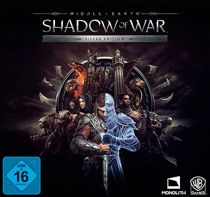 PC - Middle Earth Shadow of War silver Edition Numérique (ESD) 785300133680 Photo no. 1