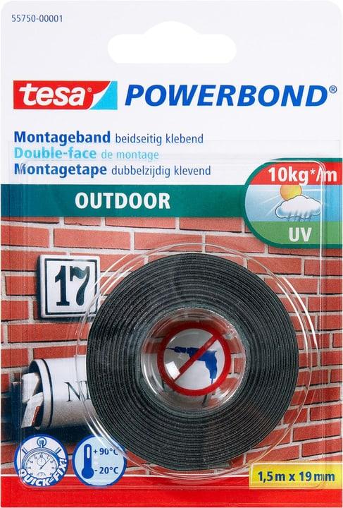 Nastro di montaggio Outdoor Tesa 663060100000 Colore Verde Taglio L: 1.5 m x L: 19.0 mm N. figura 1