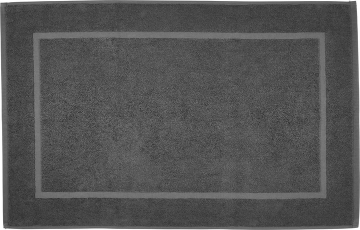 NATURAL FEELING Tapis en tissu éponge 450873121584 Couleur Anthracite Dimensions L: 50.0 cm x H: 80.0 cm Photo no. 1