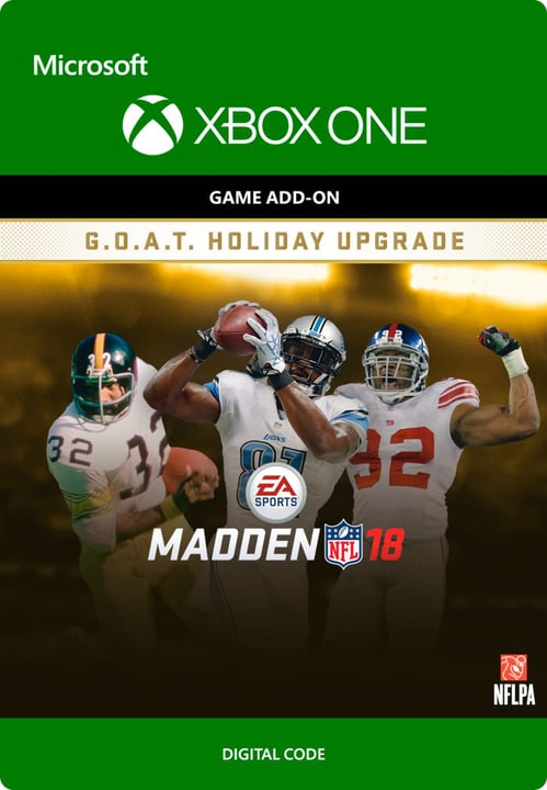 Xbox One - Madden NFL 18: G.O.A.T. Holiday Upgrade Download (ESD) 785300135631 Photo no. 1