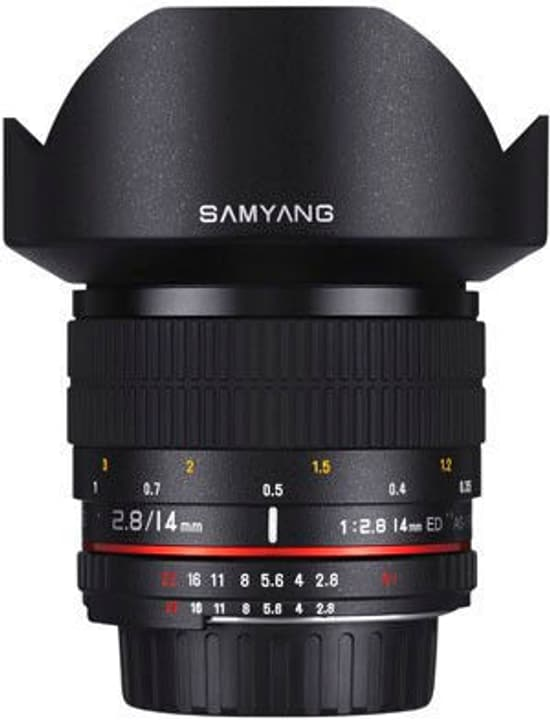 14mm F/2.8 IF ED UMC Aspherical pour Canon EF Objectif Samyang 785300128242 Photo no. 1