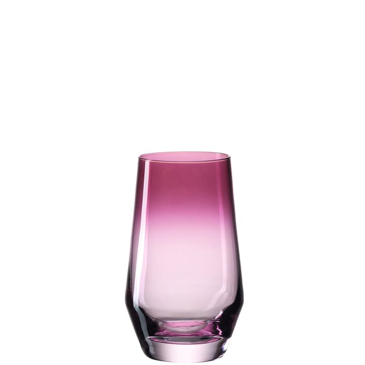 PLACIDE Verre à eau 440304500036 Couleur Pink Dimensions H: 13.0 cm Photo no. 1