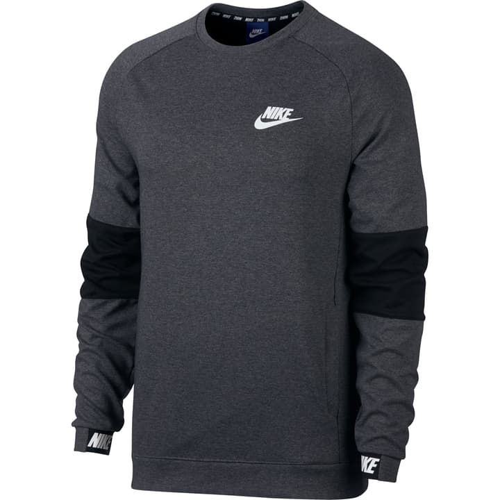 Sportswear Advance 15 Crew Pullover pour homme Nike 462368200686 Couleur antracite Taille XL Photo no. 1