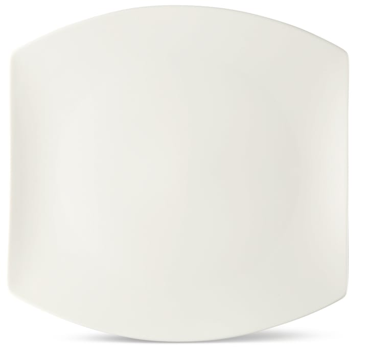 FINE LINE Piatto piano Cucina & Tavola 700160800008 Colore Bianco Dimensioni L: 30.0 cm x P: 30.0 cm x A: 3.0 cm N. figura 1