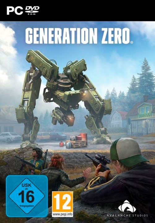 PC - Generation Zero Box 785300141478 Lingua Tedesco Piattaforma PC N. figura 1