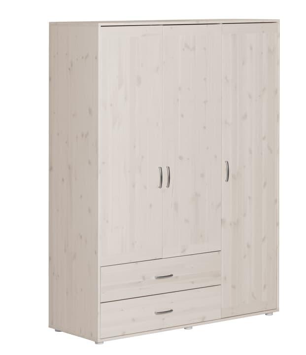 CLASSIC Armoire Flexa 404930200000 Dimensions L: 150.0 cm x P: 56.5 cm x H: 200.0 cm Couleur White Wash Photo no. 1