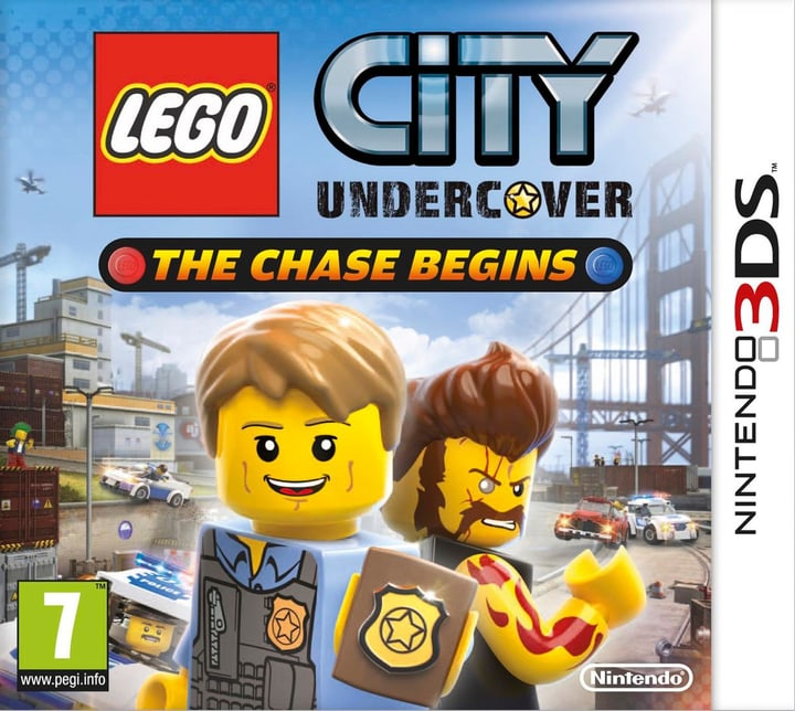 3DS - Lego City Undercover The Chase Begins Physique (Box) 785300121139 Photo no. 1