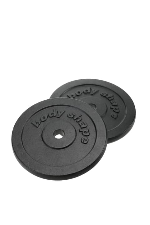 2 x 10 kg Disques en fonte Bodyshape 491906000000 Photo no. 1