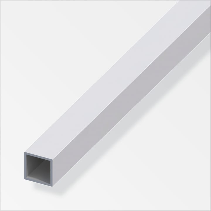 Tube carré 1 x 15 x 15 mm argent 2 m alfer 605086700000 Photo no. 1