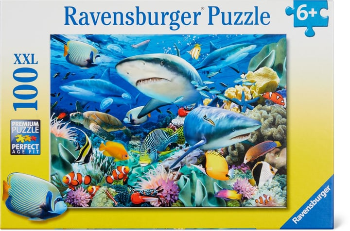 Riff der Haie Ravensburger Puzzle 748978200000 Photo no. 1