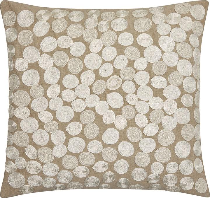 GUILLERMA Coussin décoratif 450663240574 Couleur Beige Dimensions L: 60.0 cm x H: 60.0 cm Photo no. 1