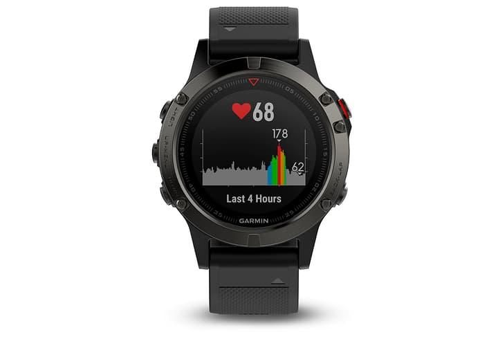 Fenix 5 OHR Herzfrequenzmesser Garmin 463009100020 Farbe schwarz Grösse 000 Bild-Nr. 1