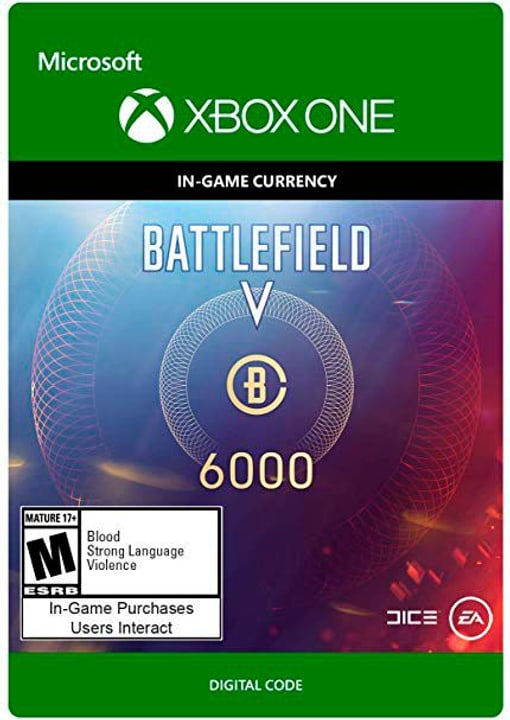 Xbox One - Battlefield V Currency 6000 Download (ESD) 785300141684 N. figura 1