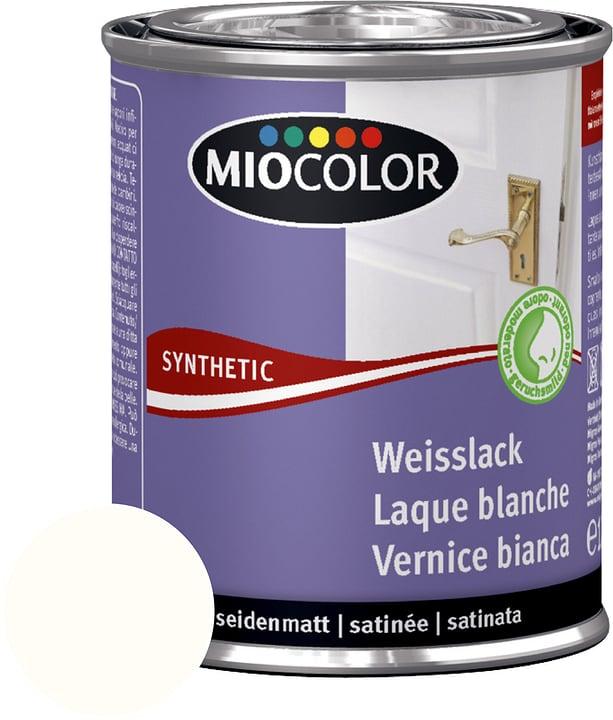 Vernice sintetica bianca satinata opaca Bianco puro 125 ml Miocolor 676770600000 Contenuto 125.0 ml Colore Bianco puro N. figura 1