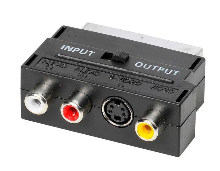 S-VHS-Adapter Mini-DIN / Scart Video Adapter Vivanco 770800600000 Bild Nr. 1