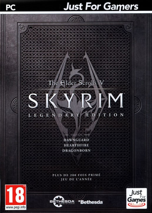 PC - The Elder Scrolls 5 Legendary - Skyrim Fisico (Box) 785300121708 N. figura 1