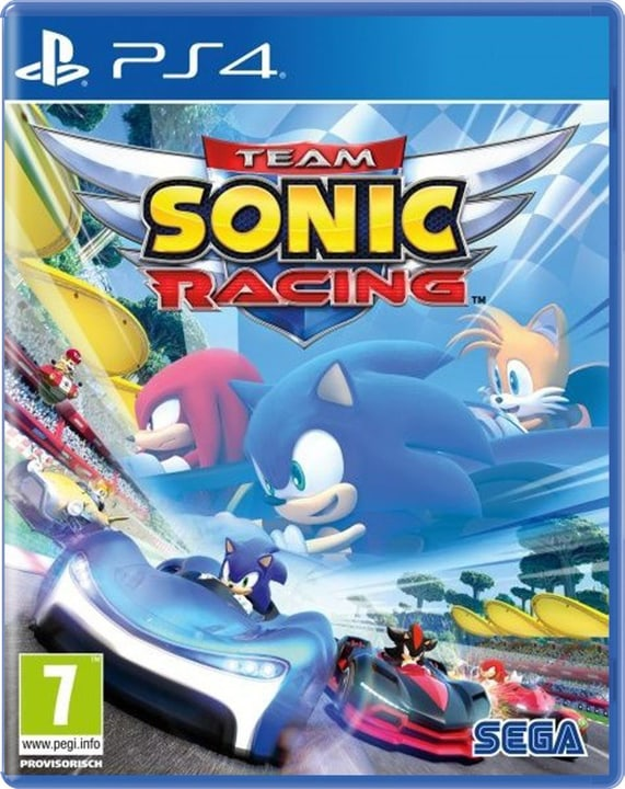 PS4 - Team Sonic Racing Box 785300138970 Langue Allemand Plate-forme Sony PlayStation 4 Photo no. 1
