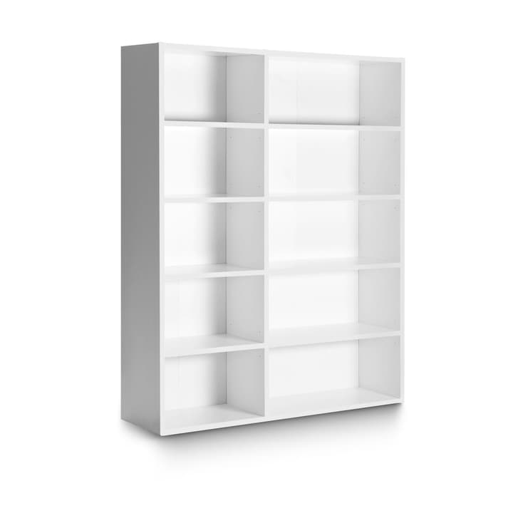 ANGELO bianco 156 x 36 x 195 cm Scaffale 360980500000 Dimensioni L: 36.0 cm x P: 156.0 cm x A: 195.0 cm Colore Bianco N. figura 1