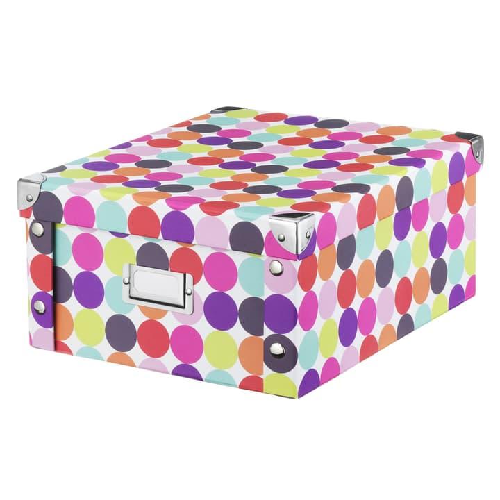 STORA Boîte de rangement 440641000192 Couleur Multicouleur Dimensions L: 26.0 cm x P: 31.0 cm x H: 14.0 cm Photo no. 1