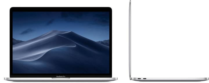 MacBook Pro 13 Touchbar 2.4GHz i5 8GB 256GB silver Apple 798491600000 Photo no. 1