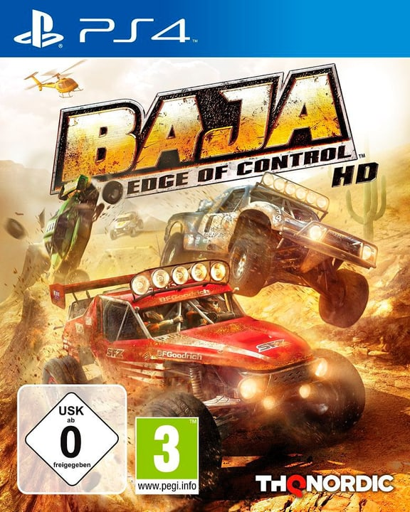 PS4 - Baja: Edge of Control HD Physique (Box) 785300122140 Photo no. 1