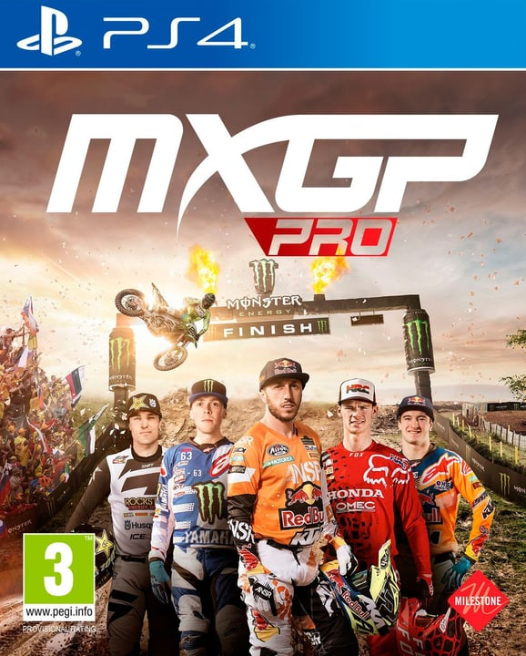 PS4 - MXGP Pro Box 785300134666 Photo no. 1