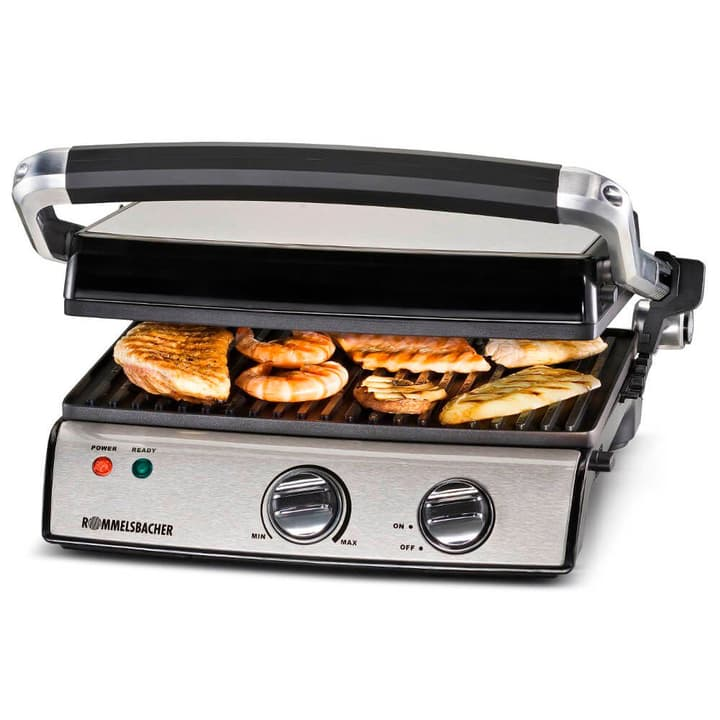 Contact Grill KG 2020 Conrtact  Grill Rommelsbacher 717499300000 Photo no. 1