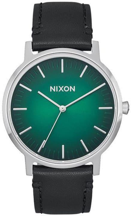 Porter Leather Green Ombre Black 40 mm Armbanduhr Nixon 785300136981 Bild Nr. 1