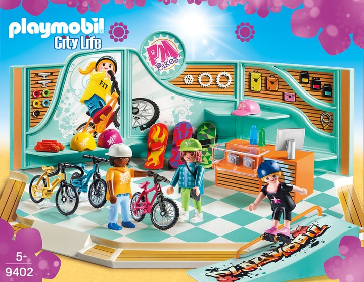 Playmobil Bike & Skate Shop 746090200000 Bild Nr. 1