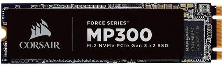 MP300 M.2 PCIe NVMe-SSD 480 Go SSD Intern Corsair 785300136910 Photo no. 1