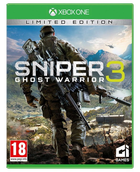 Xbox One - Sniper Ghost Warrior 3 Season Pass Edition Physique (Box) 785300121984 Photo no. 1