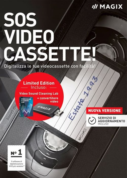 MAGIX SOS Videocassette! [PC] (I) Magix 785300129435 Photo no. 1